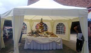 Iznajmljivanje sale, šatora i opreme